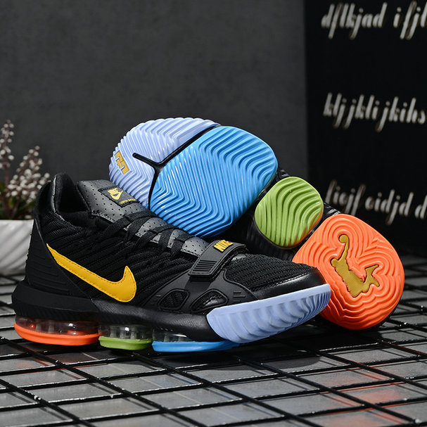 2019 Where To Buy Wholesale Cheap Nike LeBron 16 Multi-Color