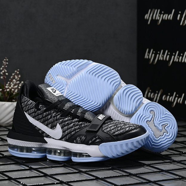 2019 Where To Buy Wholesale Cheap Nike LeBron 16 Wolf Grey Black
