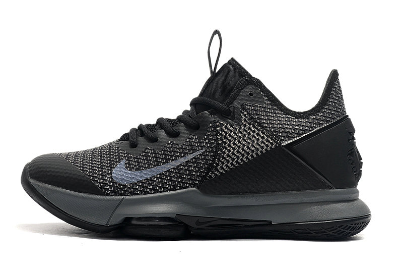 2019 Where To Buy Wholesale Cheap Nike LeBron Witness 4 Grey Black