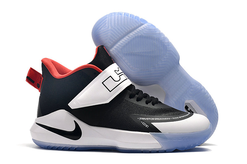 2019 Where To Buy Wholesale Cheap Nike Lebron Soldier 12 White Black Navy Blue Red