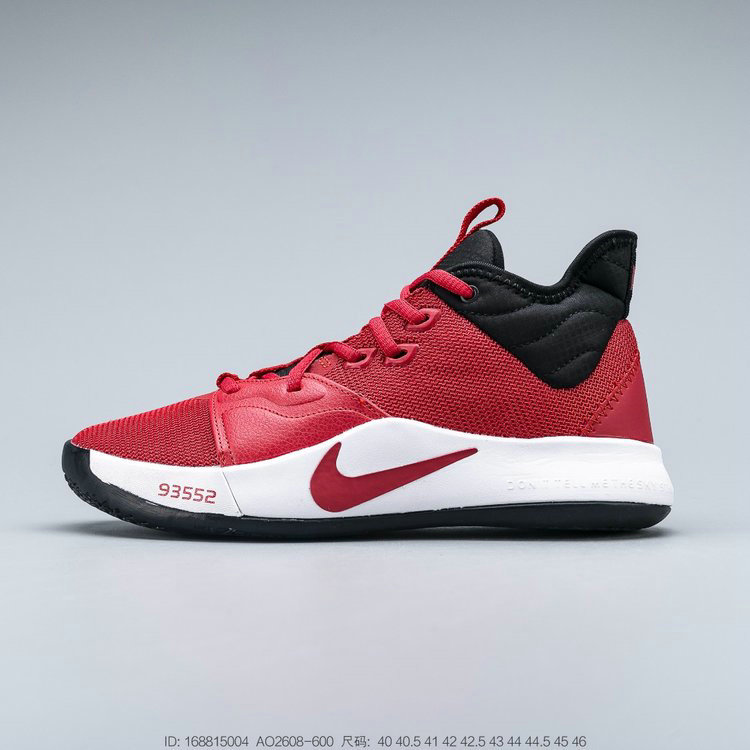 2019 Where To Buy Wholesale Cheap Nike PG 3 University Red Black White AO2608-600