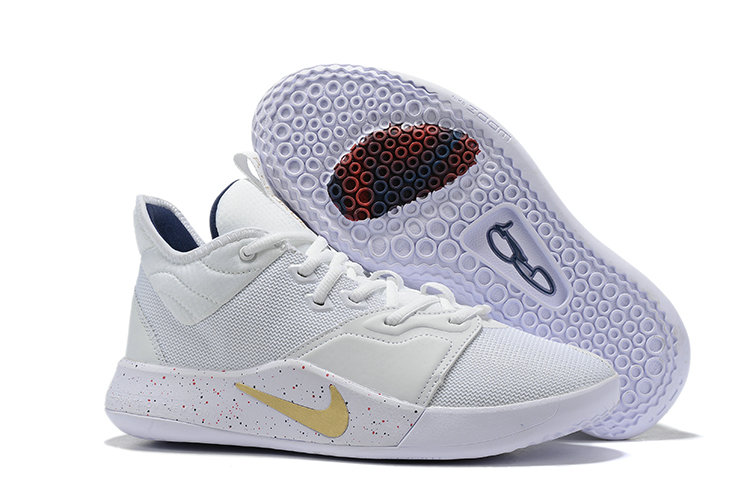 2019 Where To Buy Wholesale Cheap Nike PG3 White Backdoor