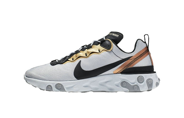 2019 Where To Buy Wholesale Cheap Nike React Element 55 Lucid Platinum CD7627-001