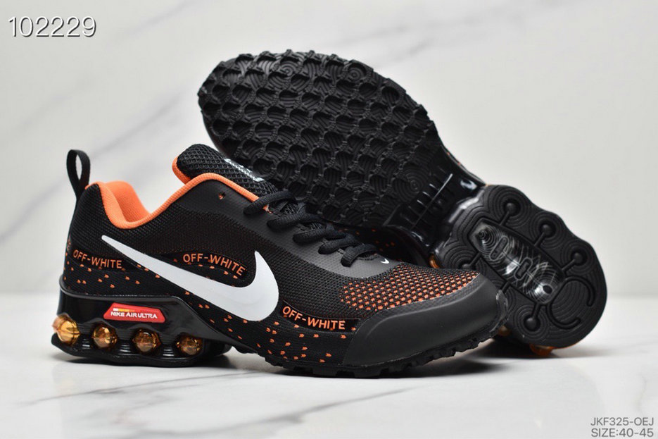 2019 Where To Buy Wholesale Cheap Nike Shox Reax Run Black Orange