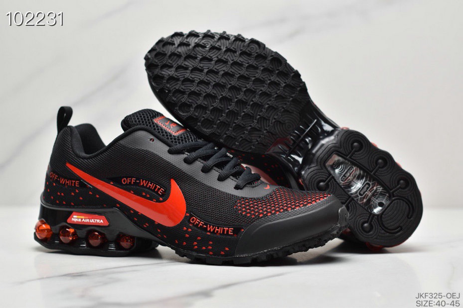 2019 Where To Buy Wholesale Cheap Nike Shox Reax Run Black Rouge Red