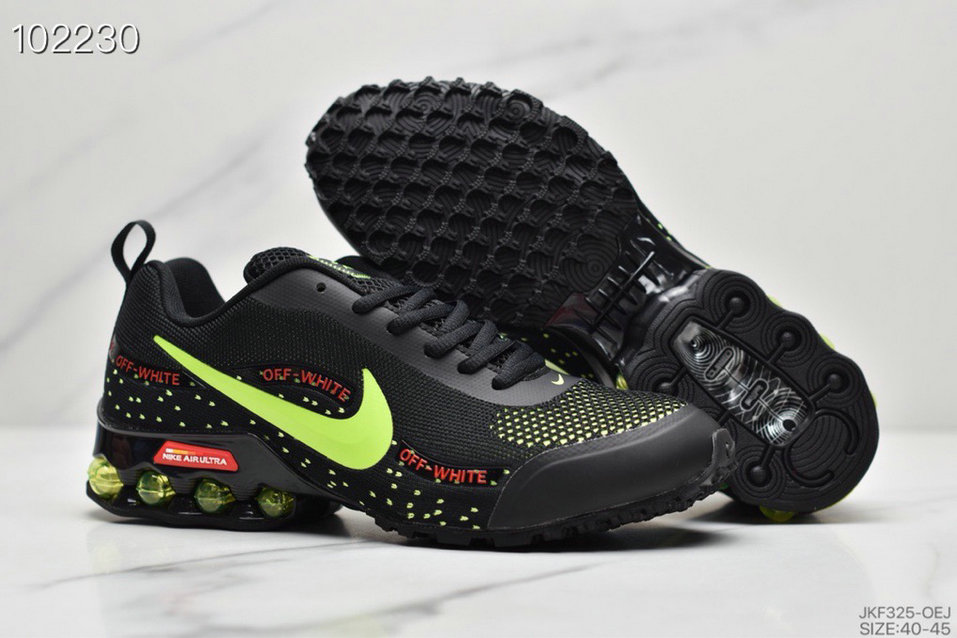 2019 Where To Buy Wholesale Cheap Nike Shox Reax Run Fluorescent Green Black