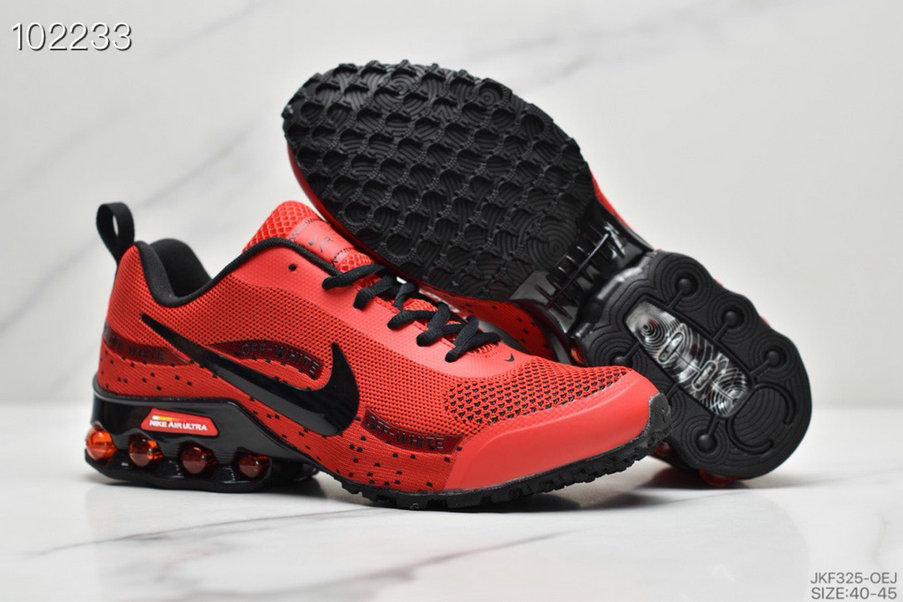 2019 Where To Buy Wholesale Cheap Nike Shox Reax Run Universite Red Black