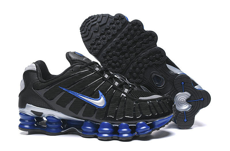 2019 Where To Buy Wholesale Cheap Nike Shox TL Black Blue Grey