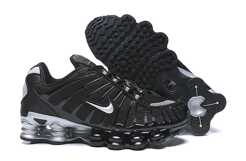 2019 Where To Buy Wholesale Cheap Nike Shox TL Black Silver Grey