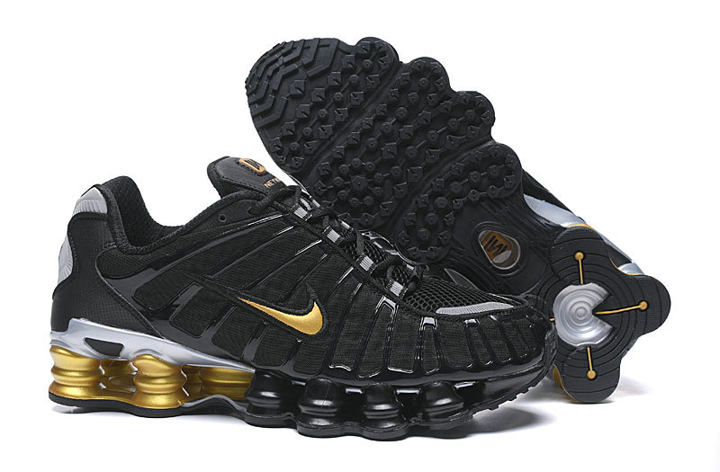 2019 Where To Buy Wholesale Cheap Nike Shox TL Gold Black