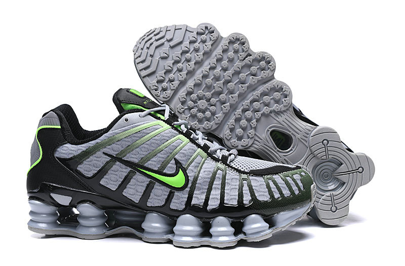 2019 Where To Buy Wholesale Cheap Nike Shox TL Grey Green Black