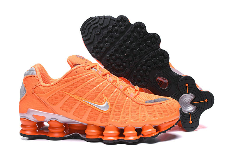 2019 Where To Buy Wholesale Cheap Nike Shox TL Orange Black Grey