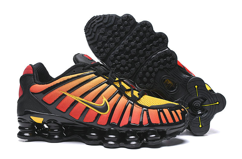 2019 Where To Buy Wholesale Cheap Nike Shox TL Orange Red Black
