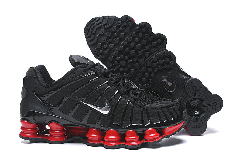 2019 Where To Buy Wholesale Cheap Nike Shox TL Red Black