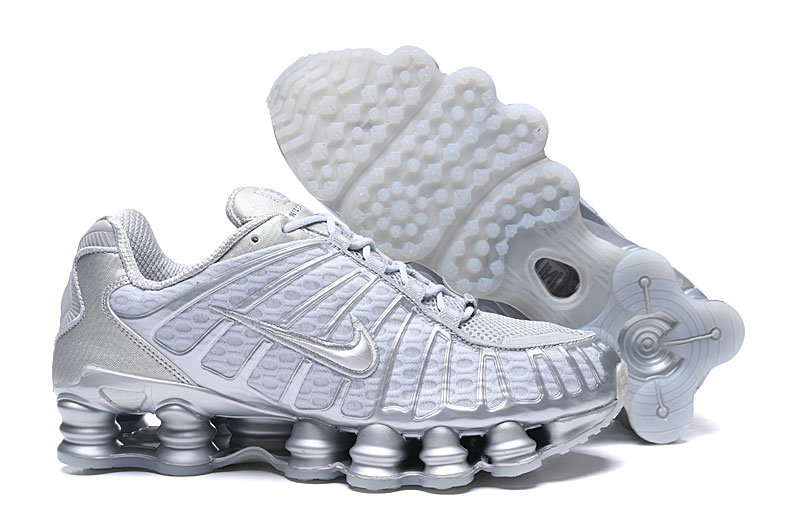 2019 Where To Buy Wholesale Cheap Nike Shox TL White Cold Grey