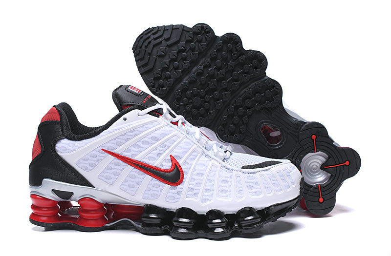 2019 Where To Buy Wholesale Cheap Nike Shox TL White Red Black