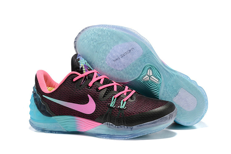 2019 Where To Buy Wholesale Cheap Nike Zoom Kobe Venomenon 5 EP South Beach Blue Black Pink 815757-083