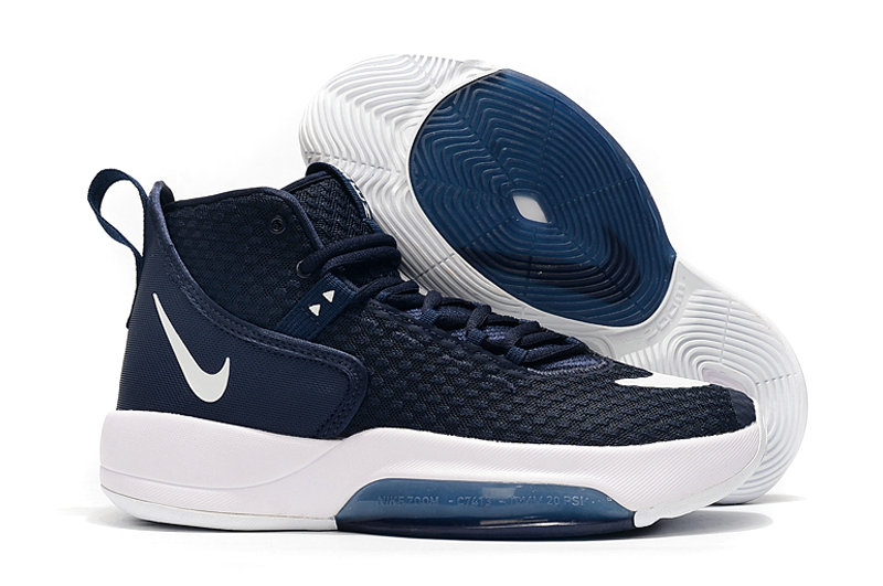 2019 Where To Buy Wholesale Cheap Nike Zoom Rise Navy Blue White