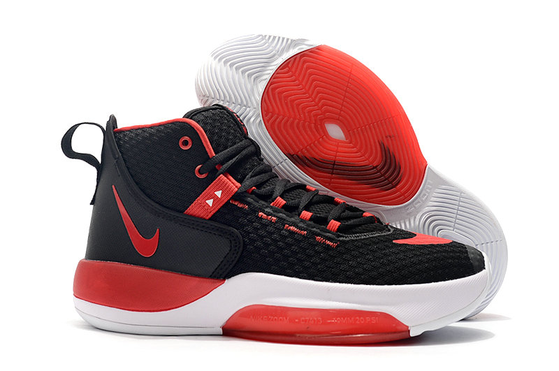 2019 Where To Buy Wholesale Cheap Nike Zoom Rise University Red Black White