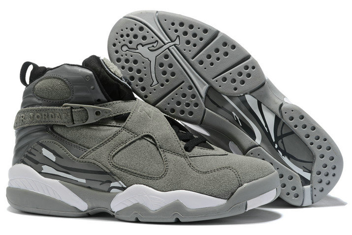 Where To Buy 2020 Air Jordan 8 Cool Grey Black-White For Sale