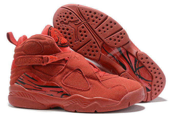 Where To Buy 2020 Air Jordan 8 Valentines Day Gym Red Ember Glow-Team Red AQ2449-614