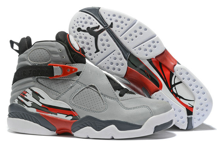 Where To Buy 2020 Air Jordan 8 Wolf Grey Black-Red-White For Sale