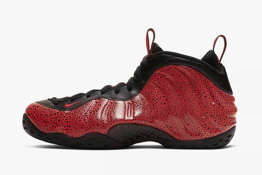 2020 Wholesale Cheap Nike Air Foamposite Gym Red Black