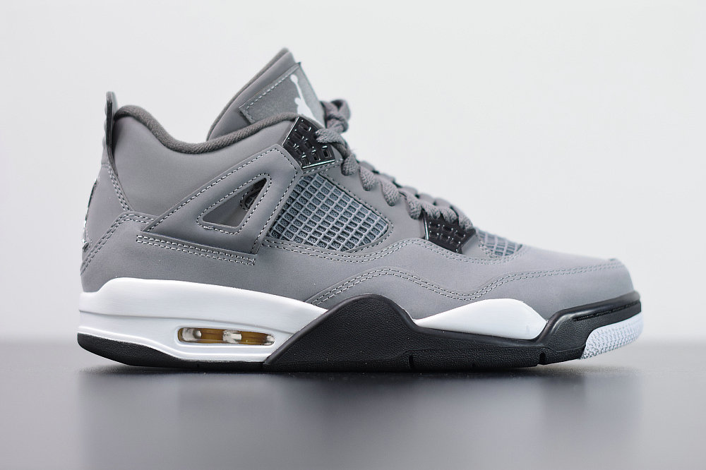 2020 Wholesale Cheap Nike Air Jordan 4 Cool Grey Chrome Dark Charcoal Gris Frais Chrome 308497-007