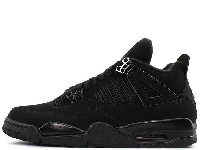 2020 Wholesale Cheap Nike Air Jordan 4 Retro Black Cat Black-Black-Lt Graphite CU1110-010