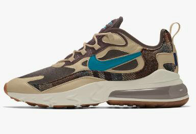 2020 Wholesale Cheap Nike Air Max 270 React Pendleton By You Custom CQ7386-991