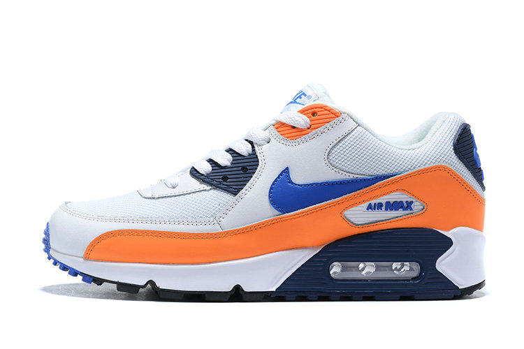 2020 Wholesale Cheap Nike Air Max 90 Essential Blue White AJ1285-104