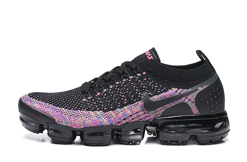 2020 Wholesale Cheap Nike Air VaporMax Flyknit 2.0 Black Multi-Color 942842-017
