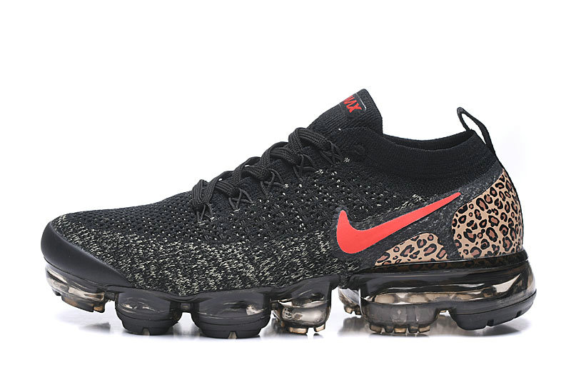 2020 Wholesale Cheap Nike Vapormax Flyknit 2.0 Black Leopard Print 942843-068