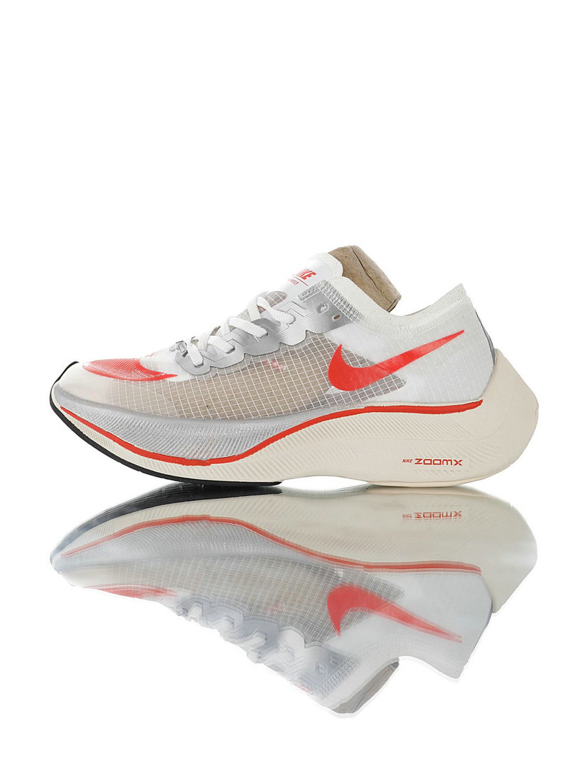 2020 Wholesale Cheap Nike ZoomX Vaporfly NEXT Cream Red AO4568-102