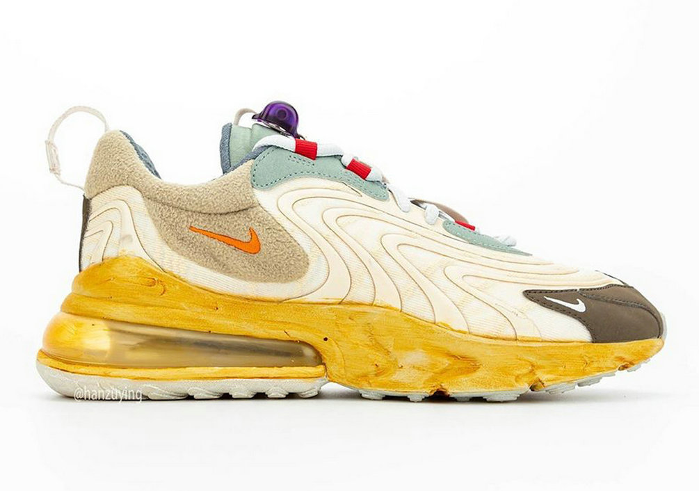 2020 Wholesale Cheap Travis Scott Nike Air Max 270 React Cactus Trails CT2864-200