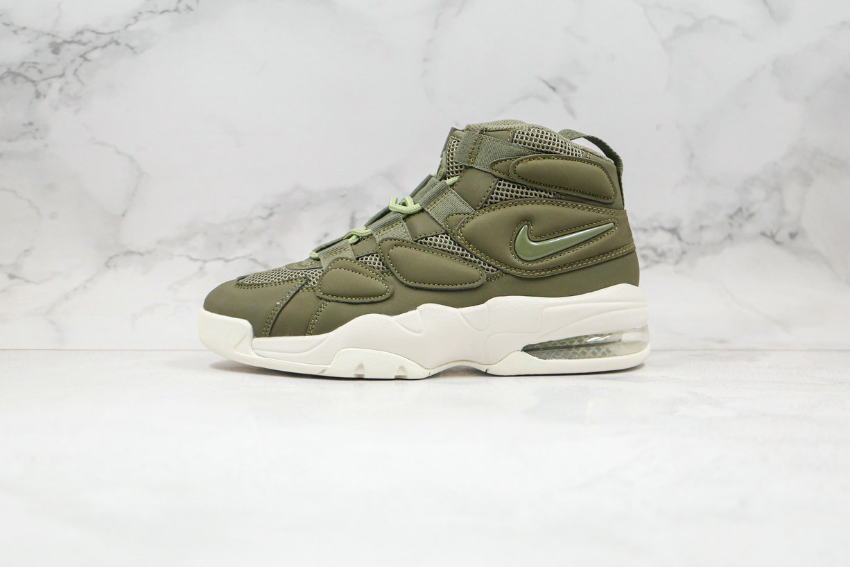 2020 Cheapest Nike Air Max Uptempo 2 Army Green 919831-300