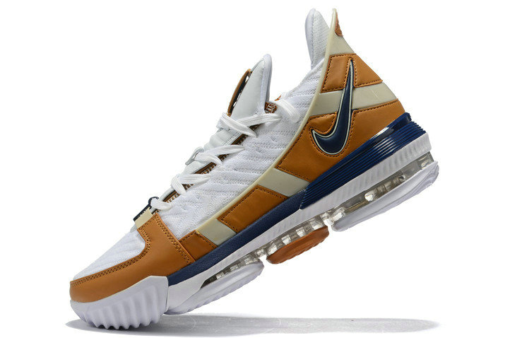 Where To Buy 2020 Nike LeBron 16 Air Trainer White Midnight Navy-Ginger CD7089-100
