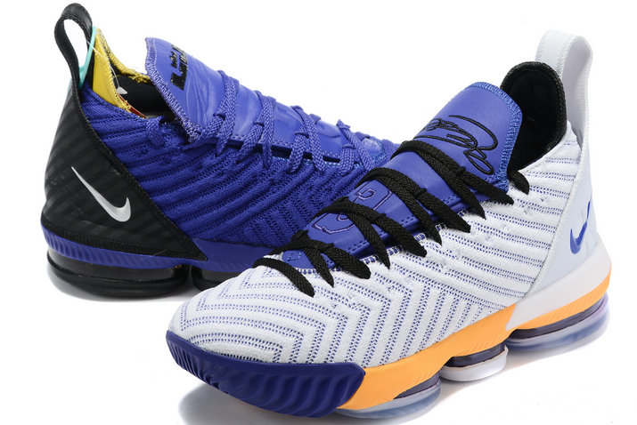 Where To Buy 2020 Nike LeBron 16 Mix And Match Two Colors Mens Size A02588-085