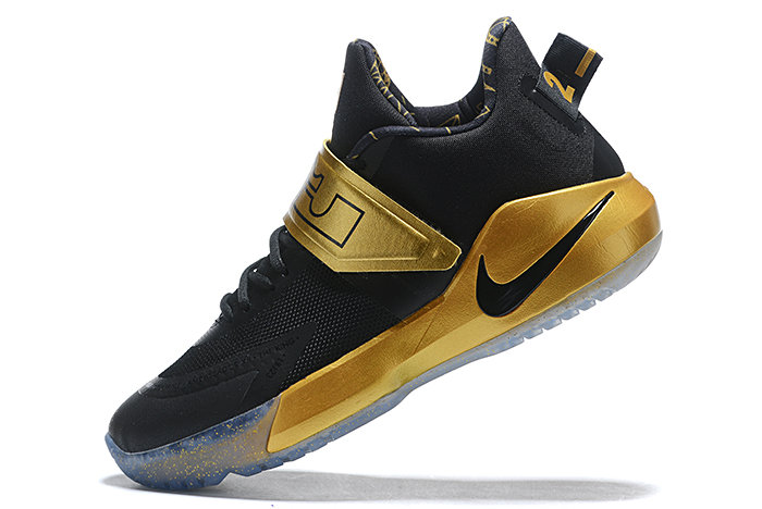 Where To Buy 2020 Nike LeBron Ambassador 12 Black Metallic Gold For Sale