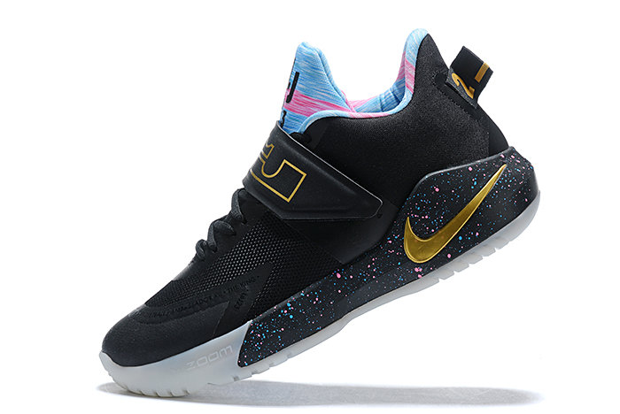 Where To Buy 2020 Nike LeBron Ambassador 12 Black Multi-Color For Sale