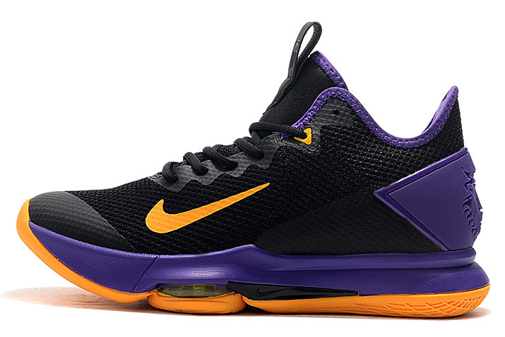 Where To Buy 2020 Nike LeBron Witness 4 Black Yellow-Purple For Sale