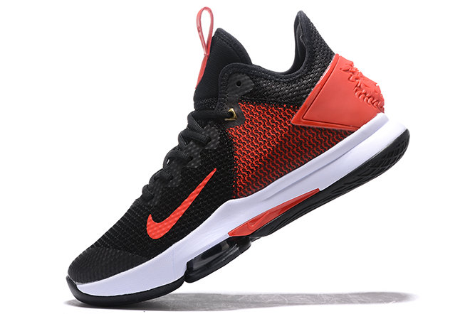 Where To Buy 2020 Nike LeBron Witness 4 IV EP Black Gym Red-White For Sale