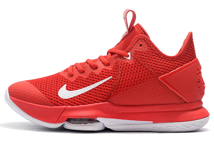 Where To Buy 2020 Nike LeBron Witness 4 University Red White For Sale
