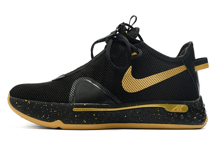 Where To Buy 2020 Nike PG 4 Black Metallic Gold For Sale