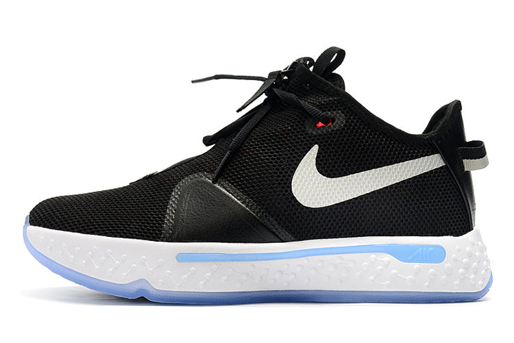 Where To Buy 2020 Nike PG 4 Black White-Smoke Grey CD5082-001