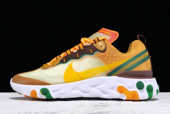 Where To Buy 2020 Nike React Element 87 Pale Ivory CJ6897113 For Cheap