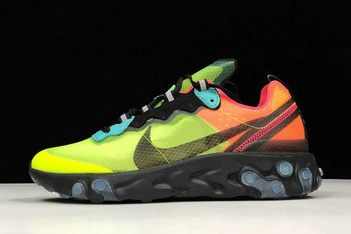 Where To Buy 2020 Nike React Element 87 Volt Racer Pink-Black-Aurora AQ1090-700
