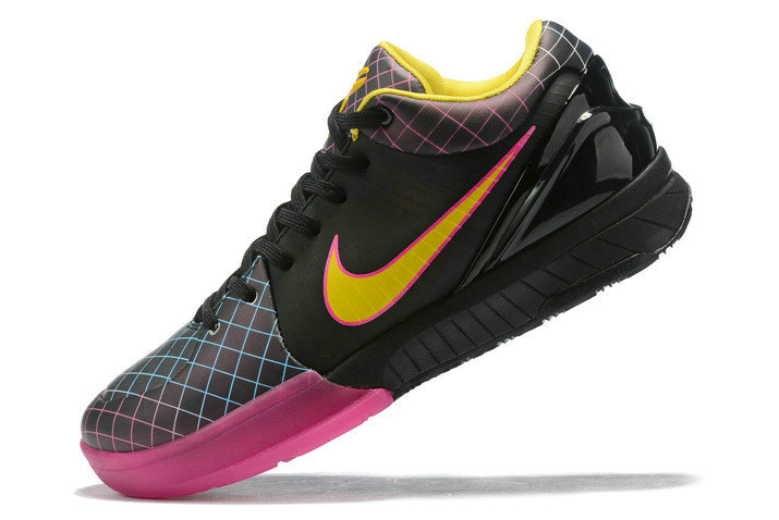 Where To Buy 2020 Undefeated x Nike Kobe 4 Protro Black Pink-Yellow Shoes