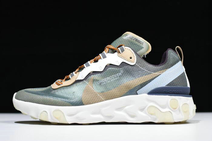 Where To Buy 2020 Undercover x Nike React Element 87 Green Mist BQ2718-300