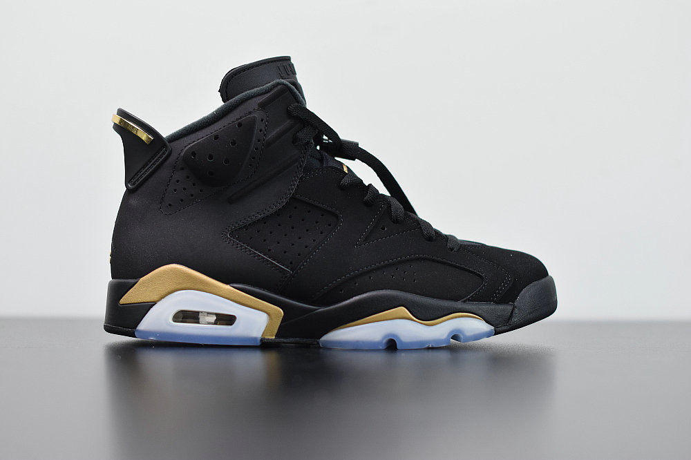 2020 Womens Wholesale Cheap Nike Air Jordan 6 Retro DMP Black Metallic Gold CT4954-007
